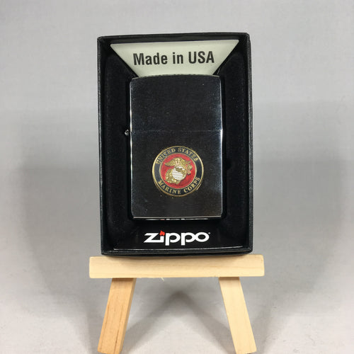 U.S. Marine Corp Stainless Steel Lighter