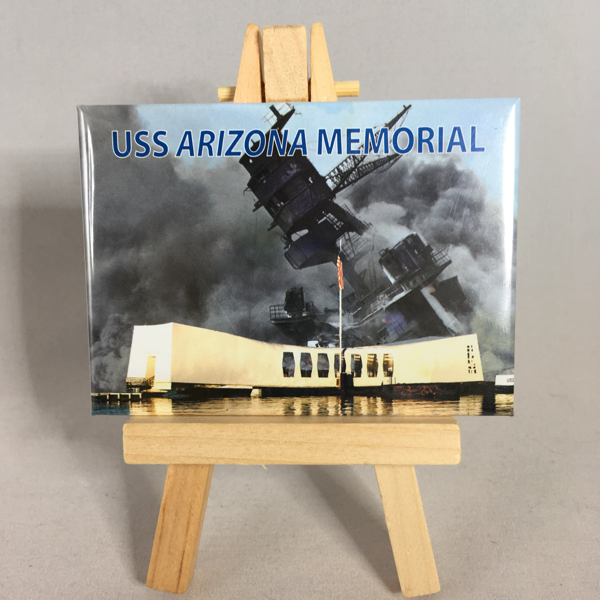 USS Arizona Memorial Magnet