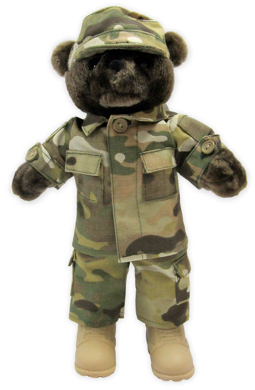 Army Multi Cam Bear