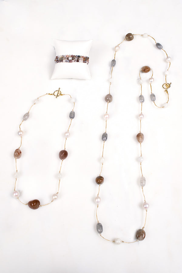 Cindy Rutilated Quartz Necklace