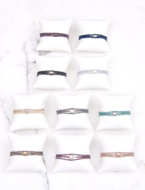 Assorted Crystal Wristlets