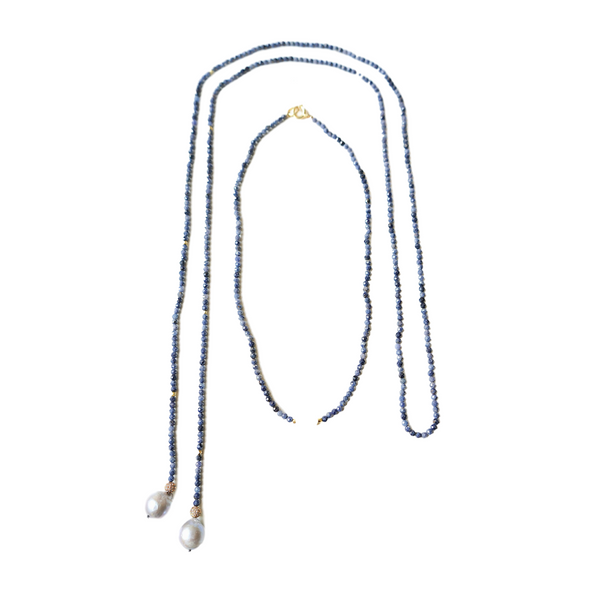 Didi short necklace and lariat set
