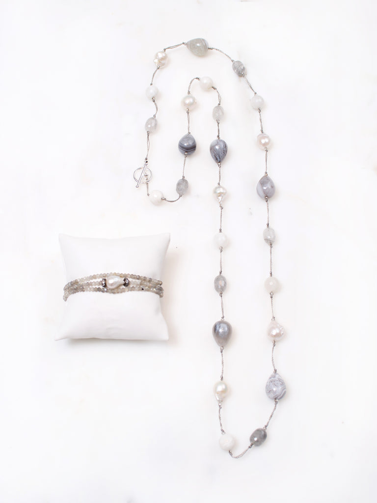 Nina Long and Short Necklace