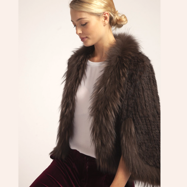 Gorgeous FoxFur Cape/Jacket