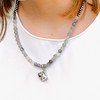 Windsor Collection Grey Agate Short Necklace