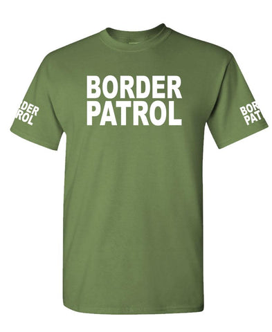 BORDER PATROL - Unisex Cotton T-Shirt Tee Shirt (tee)