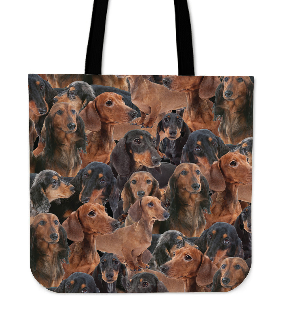 Wiener Dogs Tote Bag