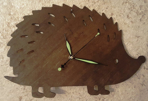 Hedgehog Wall Clock