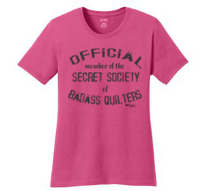 Official Member of the Secret Society of Badass Quilters Shirt