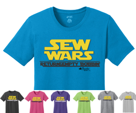 Sew Wars Return of the Empty Bobbin Shirt