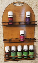 Load image into Gallery viewer, Essential oils bottle storage rack, wall mount, small
