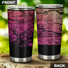 Load image into Gallery viewer, Sun Forest Glitter Tumbler