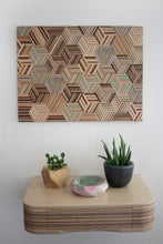 Load image into Gallery viewer, HEXAGON WALL ART