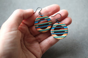 HORIZON DANGLE EARRINGS