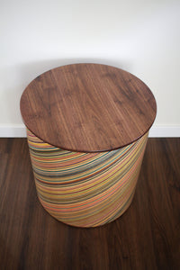 'ROUND BOIS' END TABLE SET