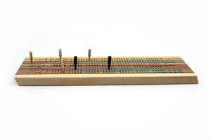 SKATEBOARD CRIBBAGE BOARD