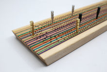 Load image into Gallery viewer, SKATEBOARD CRIBBAGE BOARD