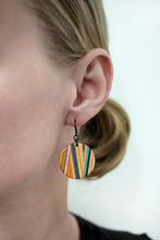 Load image into Gallery viewer, ZIGZAG DANGLE EARRINGS