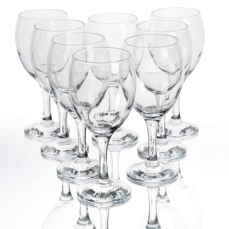 Imperial 8-Piece Set 10.25oz Red Wine Glass Set - Flashpopup.com