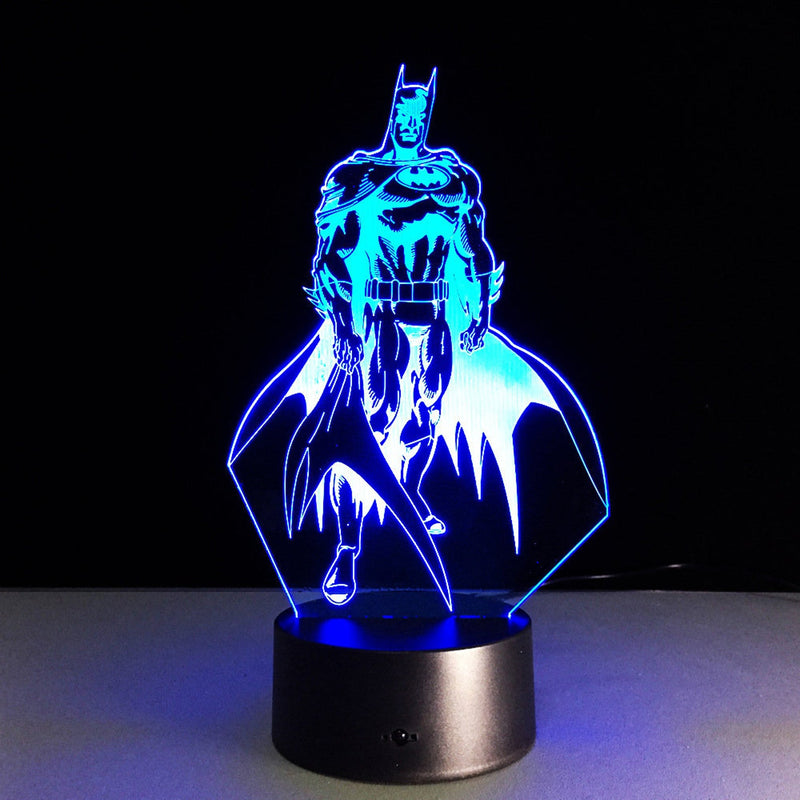 Batman Illusion Lamp, 3D Light Experience