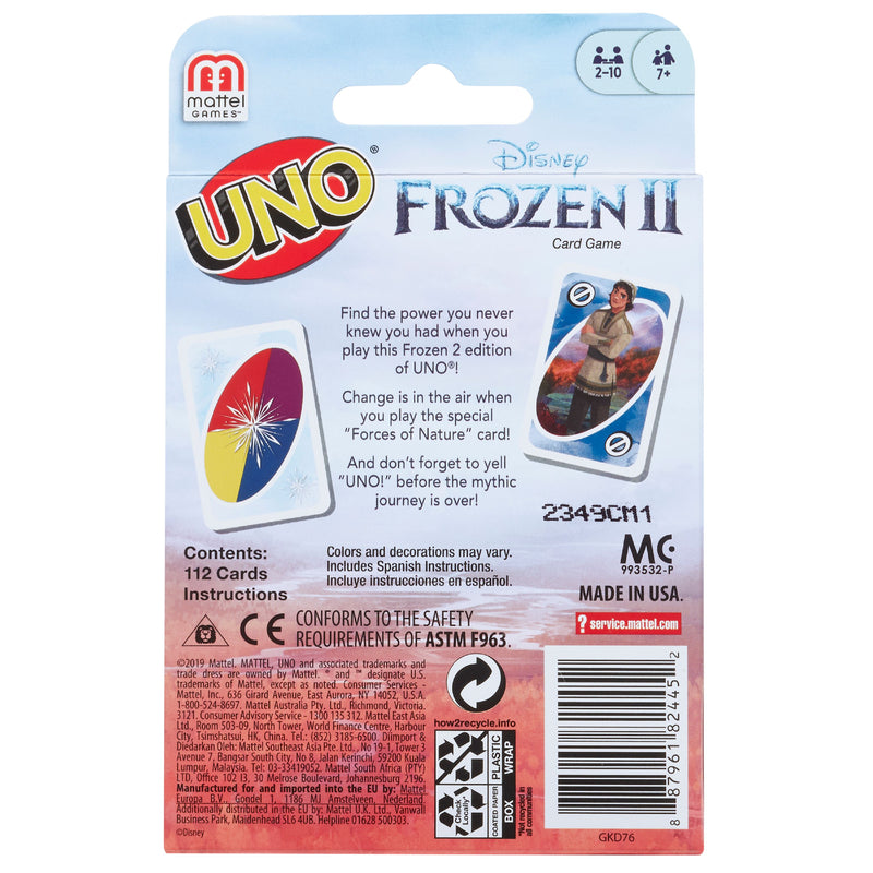 UNO Disney Frozen 2 Card Game