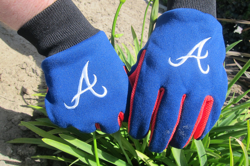 MLB Team Logo Sports Utility Gloves - Atlanta Braves - Flashpopup.com