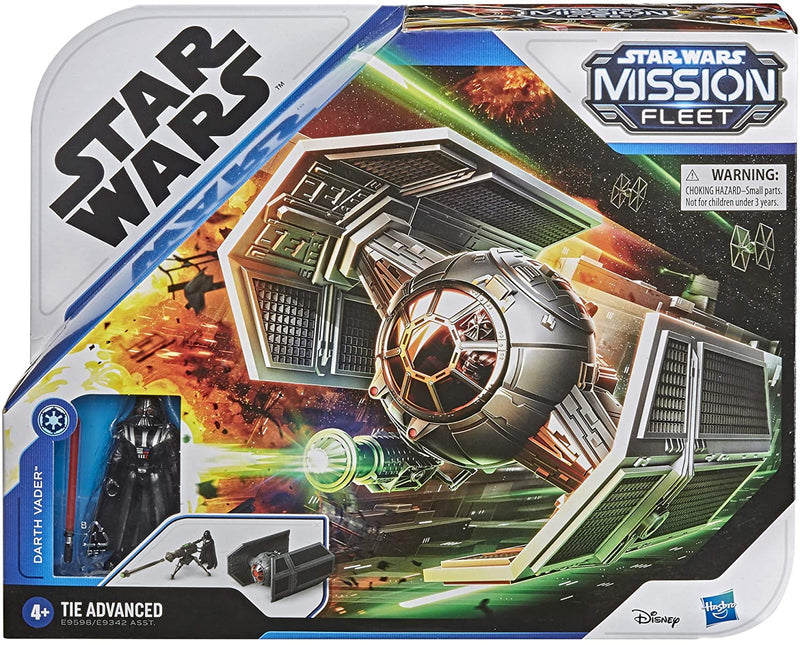 Star Wars Mission Fleet Darth Vader TIE Advanced
