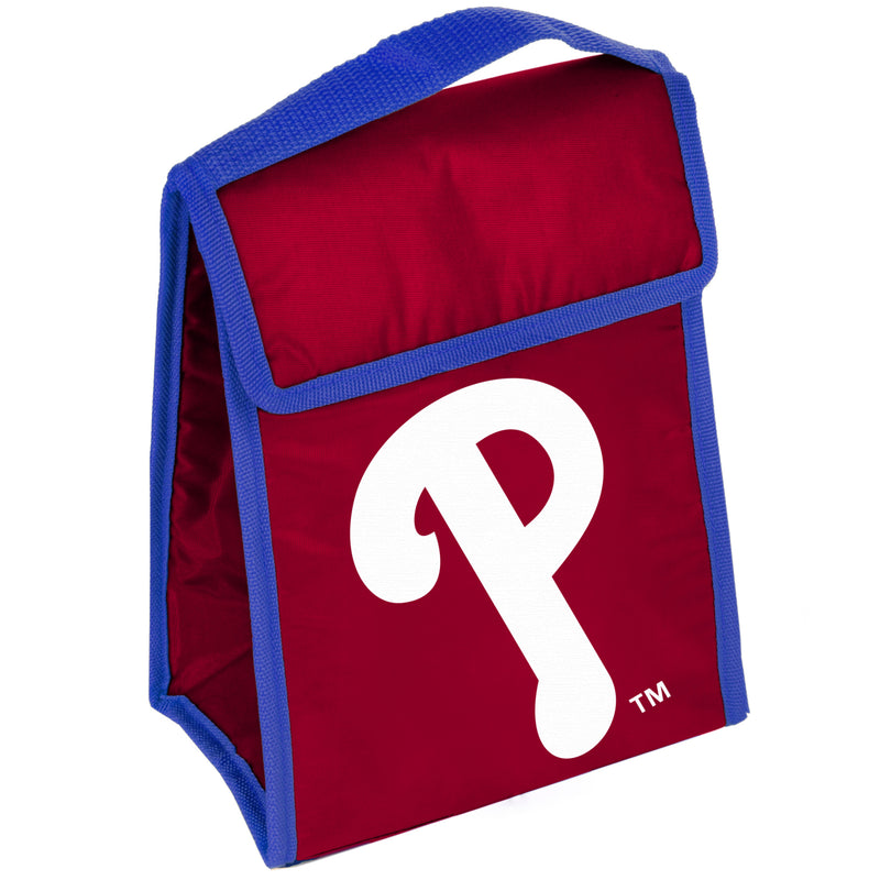 MLB Gradient Insulated Velcro Lunch Bag - Philadelphia Phillies - Flashpopup.com