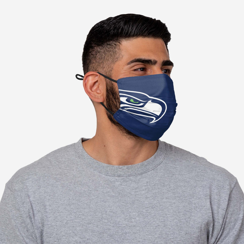 NFL Seattle Seahawks Face Mask On-Field Sideline, 100% Cotton