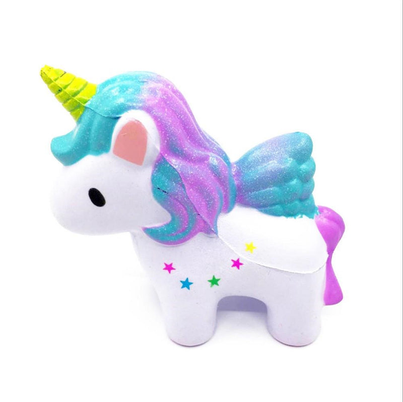 Squishy Small Unicorn Standing Release stress - Flashpopup.com