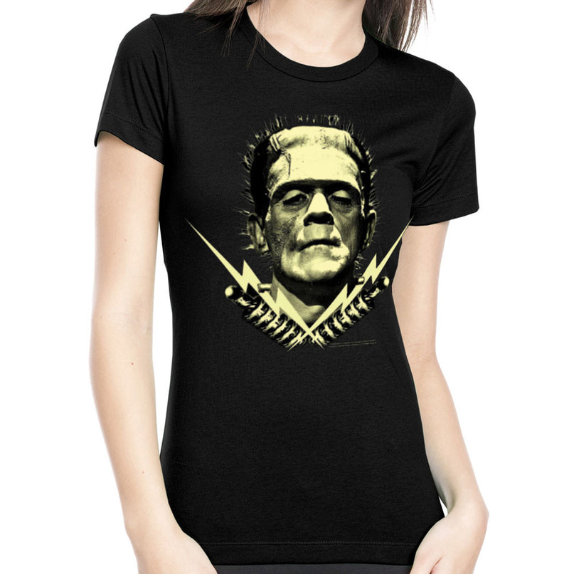 Monsters Women'S Frankenstein Tshirt (Small) - Flashpopup.com