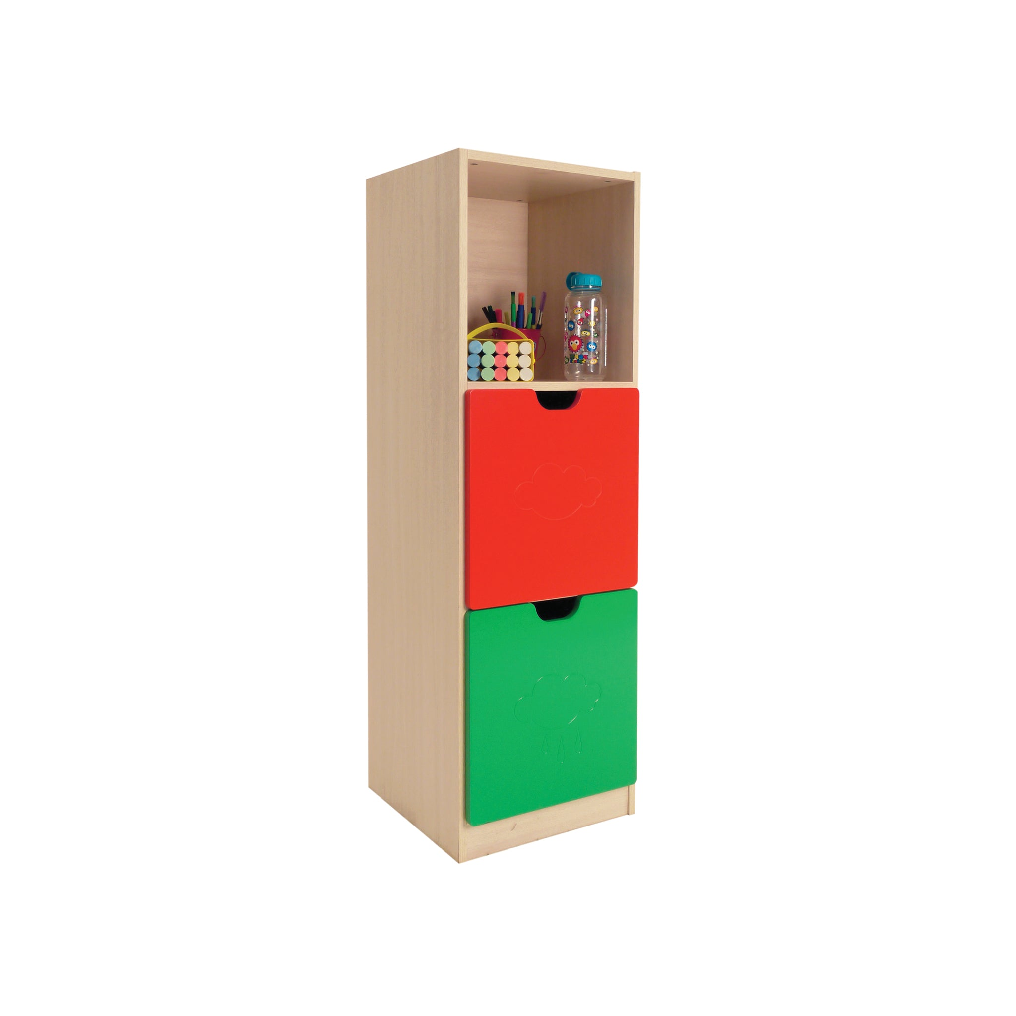 Hedcor 3 Compartment school storage