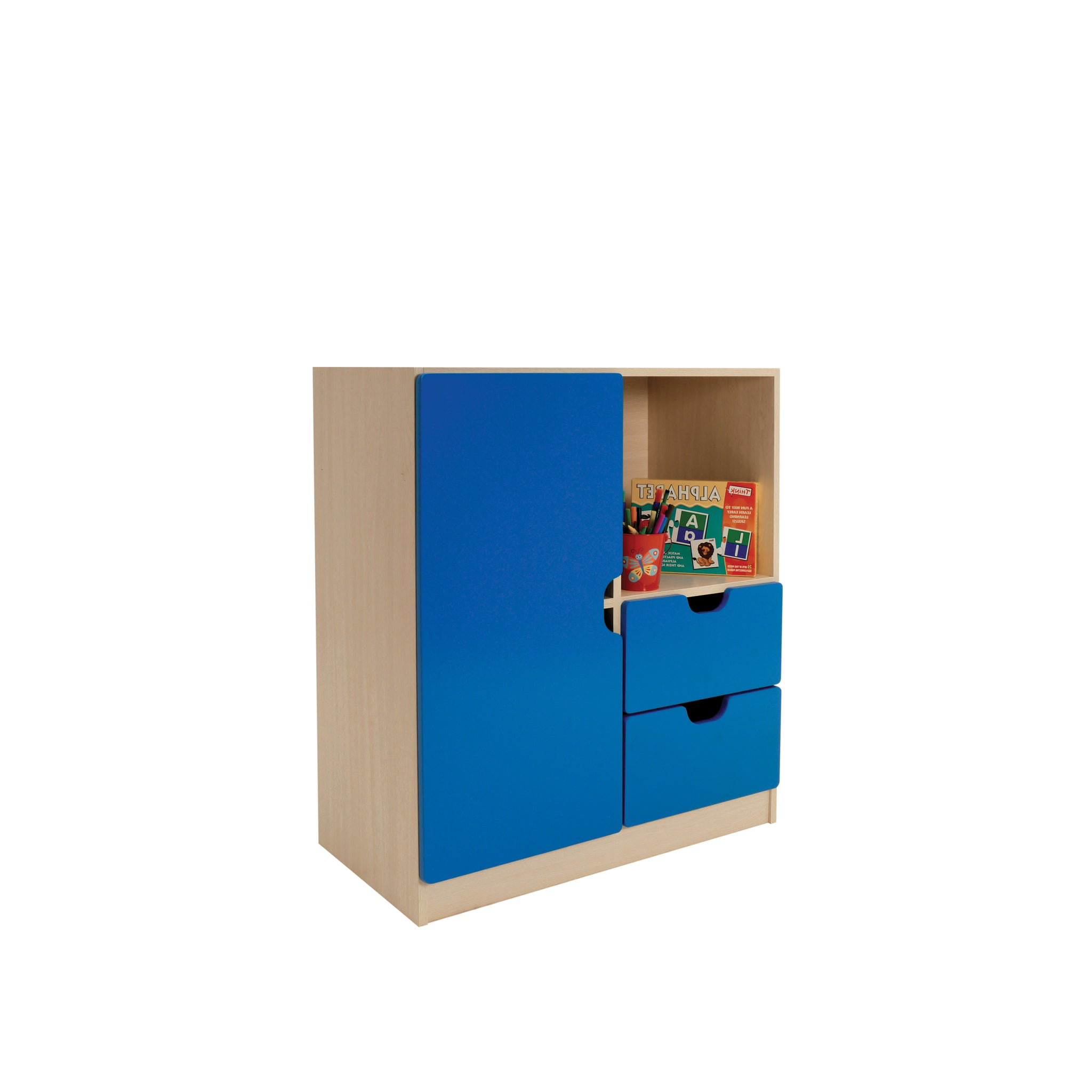Hedcor 4 Compartment school storage unit