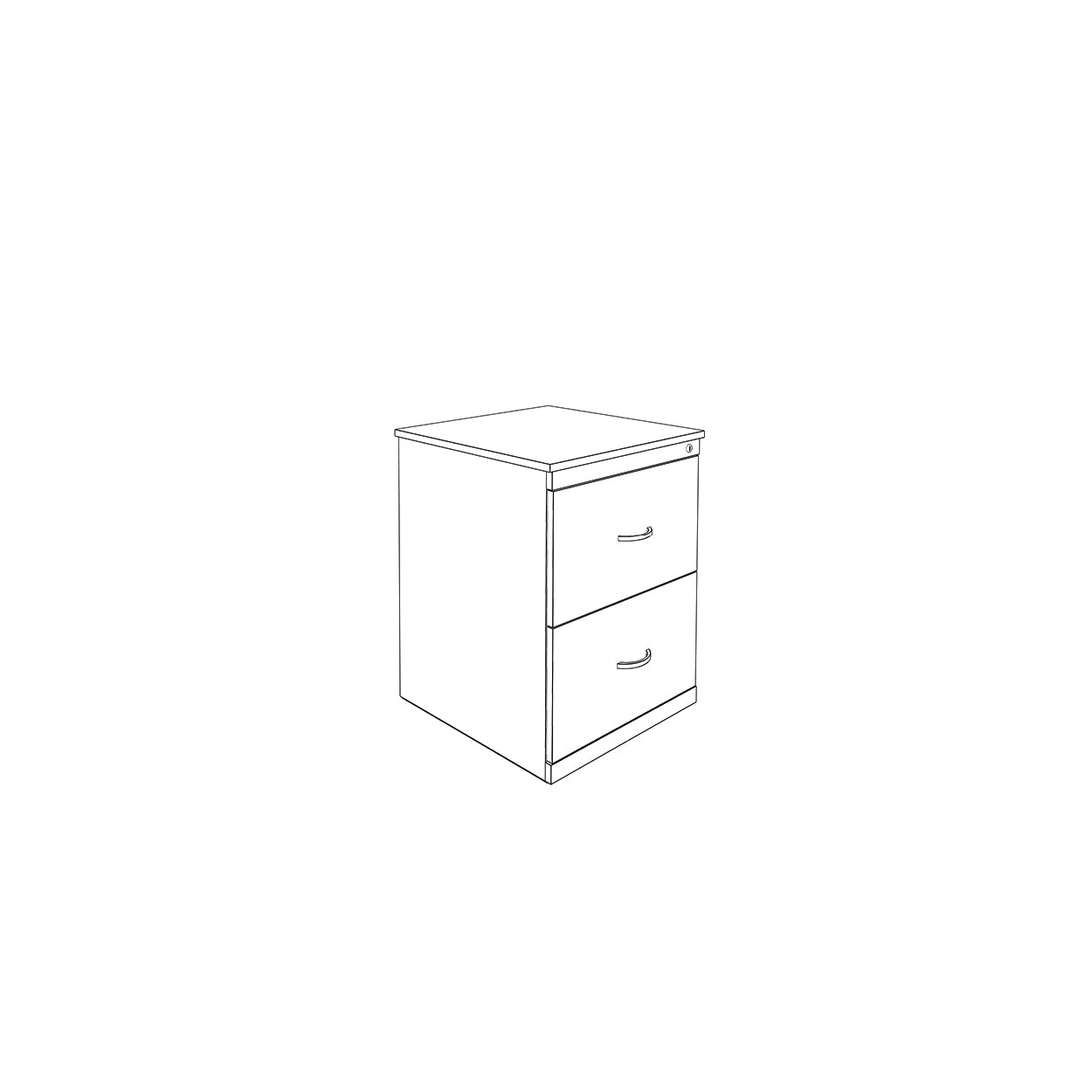 Hedcor filing 2 drawer