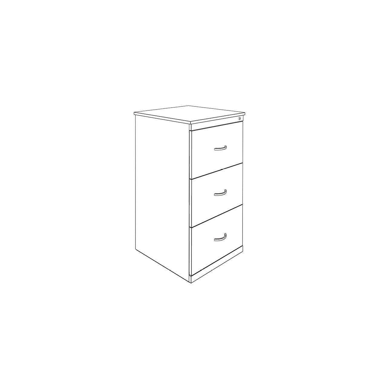 Hedcor Filing 3 drawer