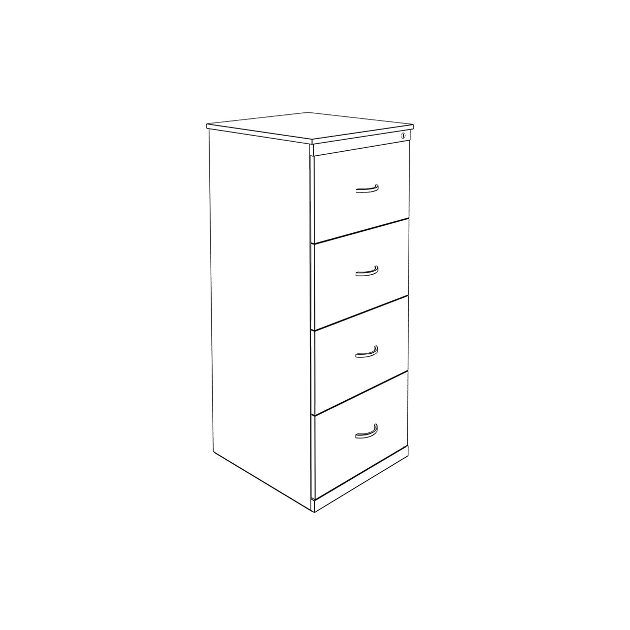 Hedcor filing 4 drawer