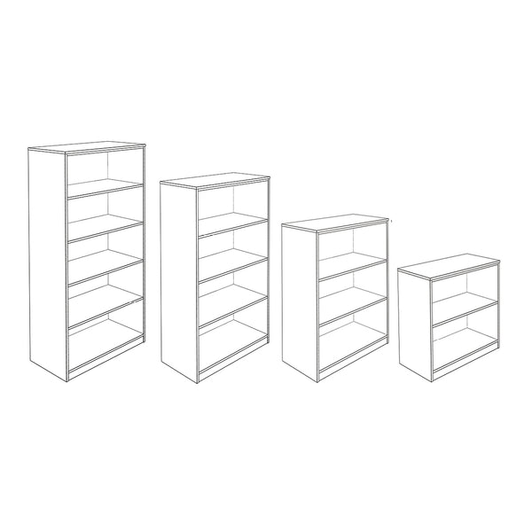 Hedcor Cobalt 32 open bookcase