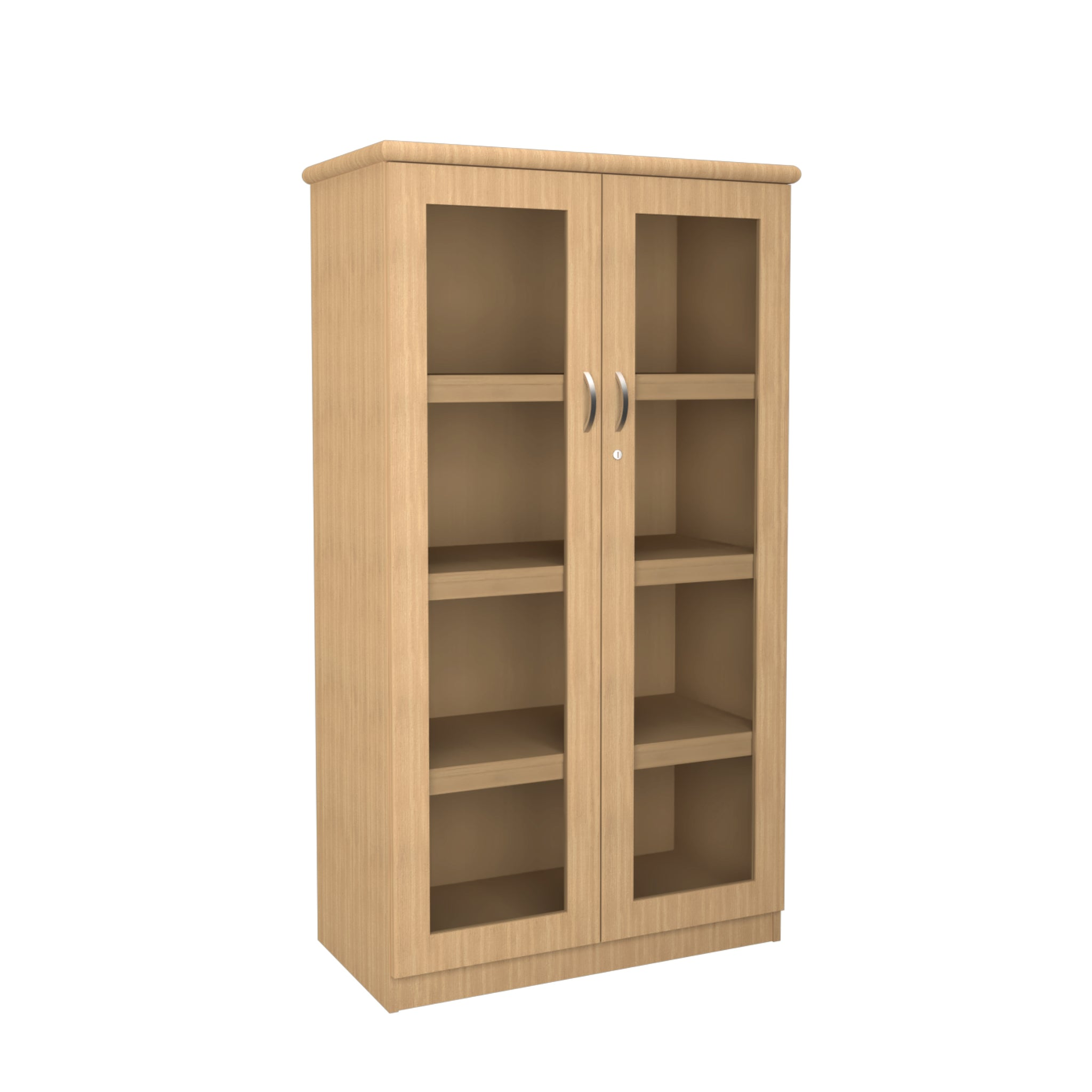 Hedcor Diamond bookcase glass inlay
