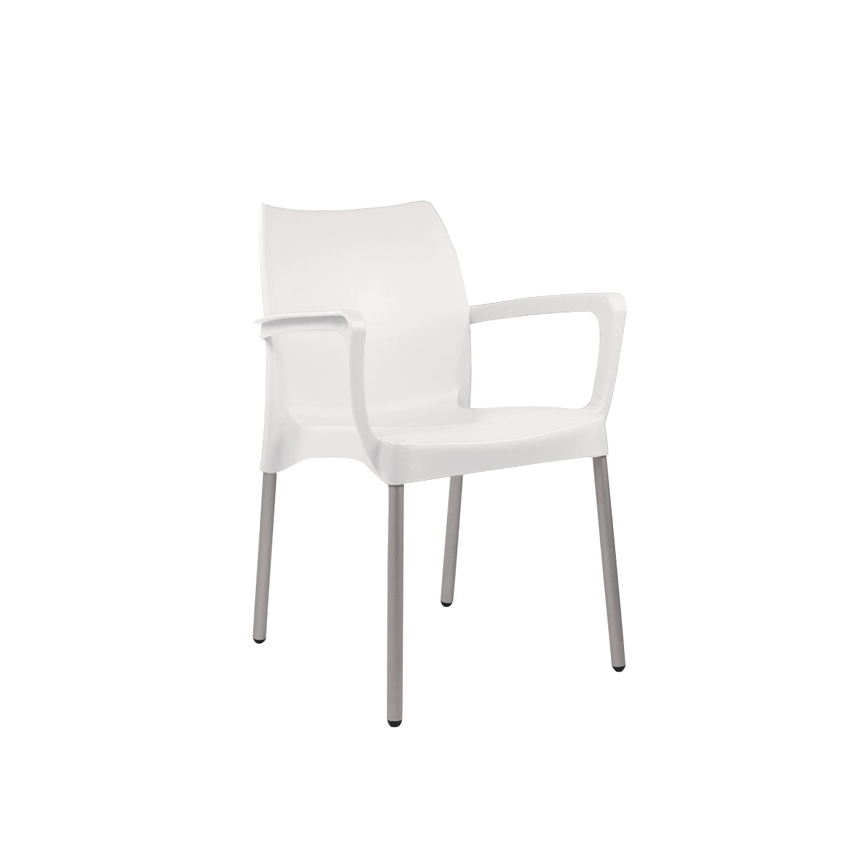 Hedcor Sage with arms plastic chair