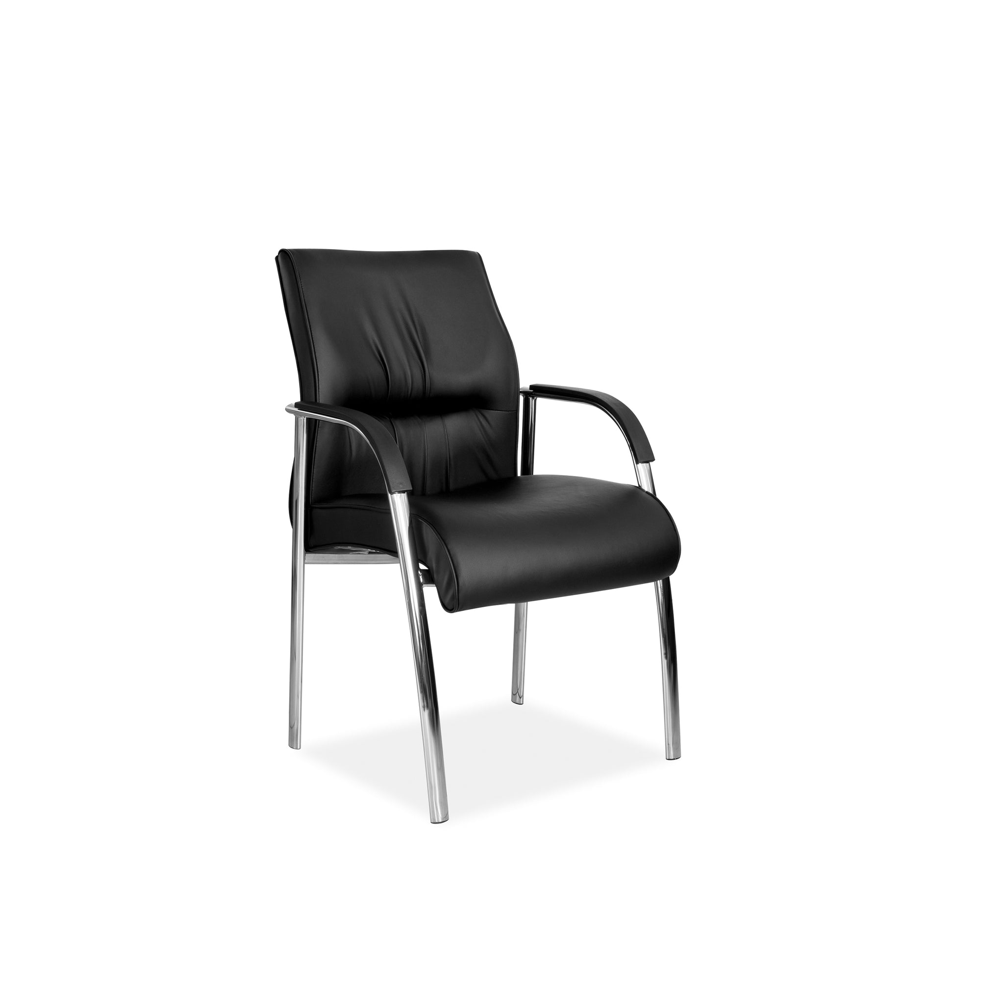 Hedcor Salvador Chrome office chair 4 legged