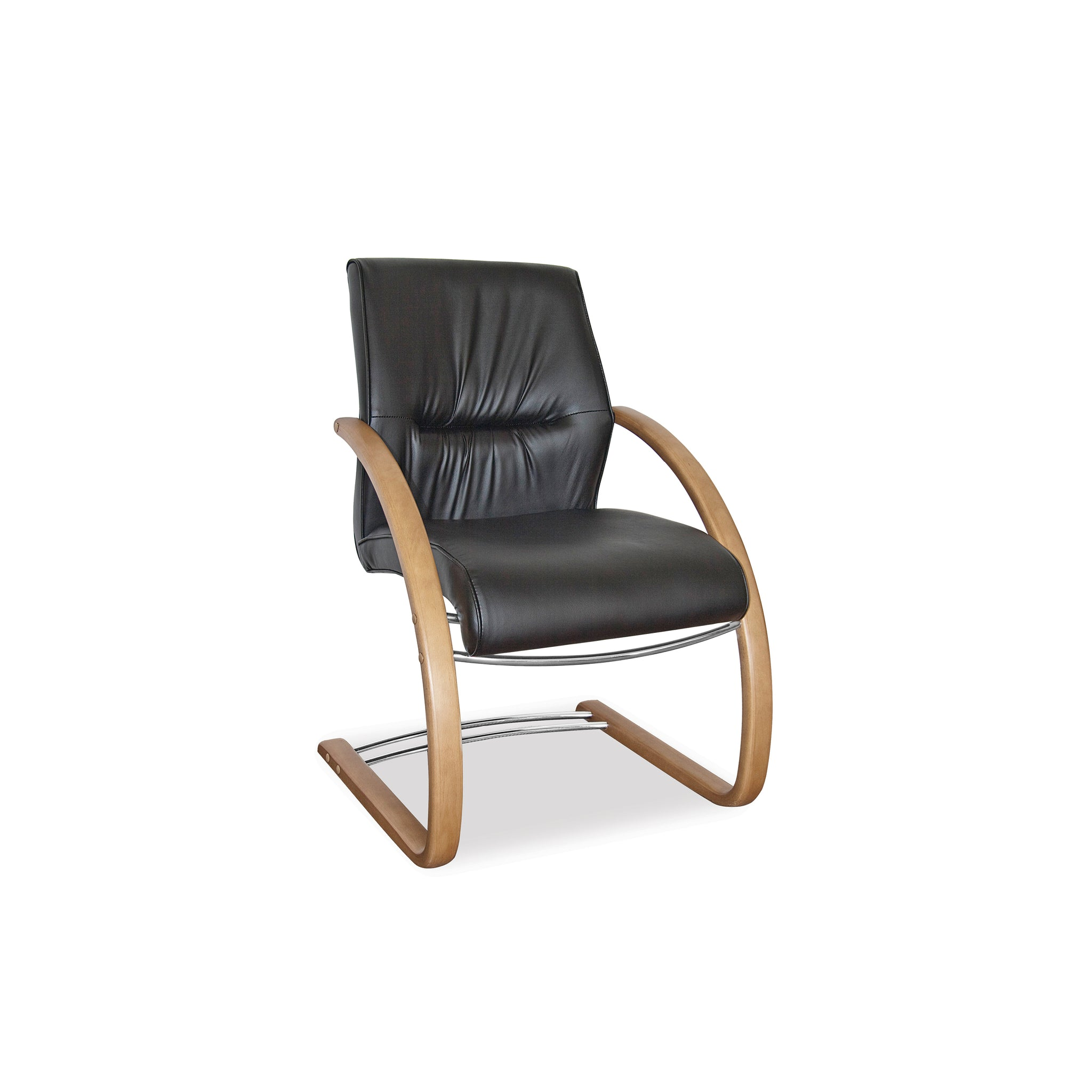 Hedcor Salvador Visitors sleigh office chair