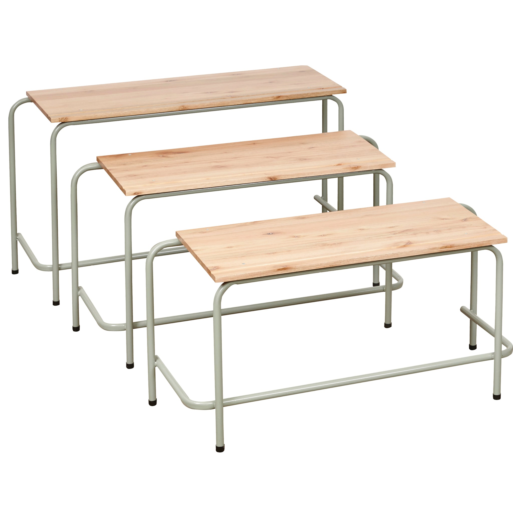 Hedcor School Table Double Saligna