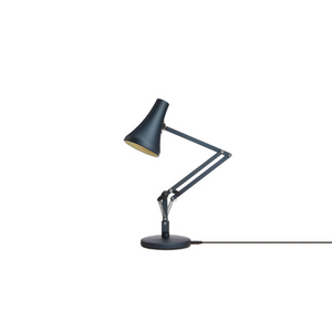 90 Mini Mini Desk Lamp - Steel Blue & Grey