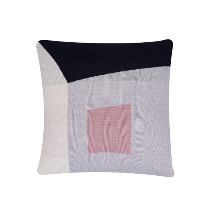 Gard Navy & Pink Cushion