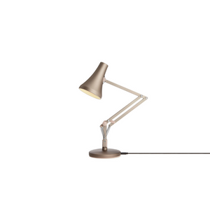 90 Mini Mini Desk Lamp - Warm Silver & Blush