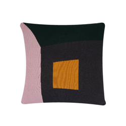 Gard Pink & Green Cushion