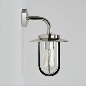 Montparnasse 0484 Polished Nickel Wall Light
