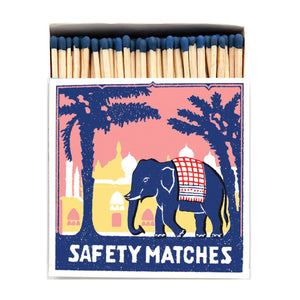 Pink Elephant Matchbox