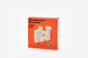 Blockitecture Building Blocks - Brutalism