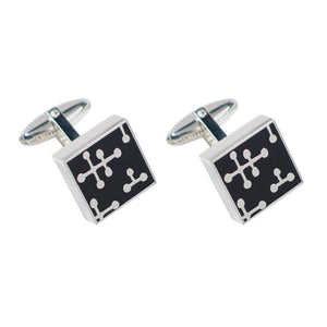 Charles & Ray Eames Dots Cufflinks